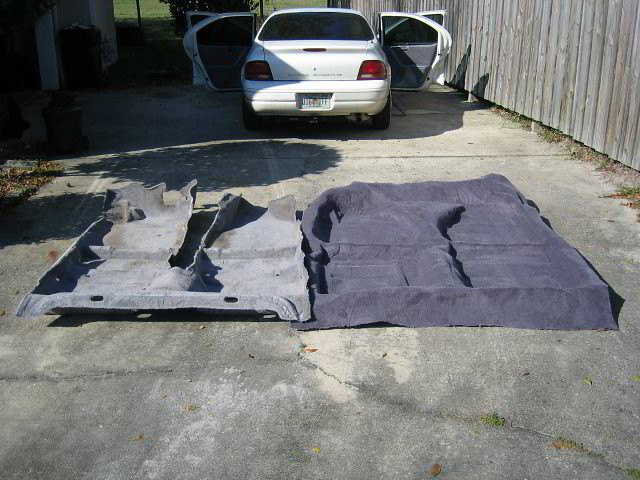 ... Dodge Stratus Carpet Replacement - Old Car Restoration | by paul79uf