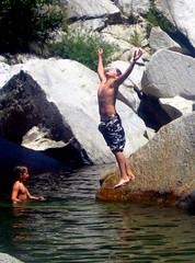 Summer Release, River Fun in California   by moonjazz