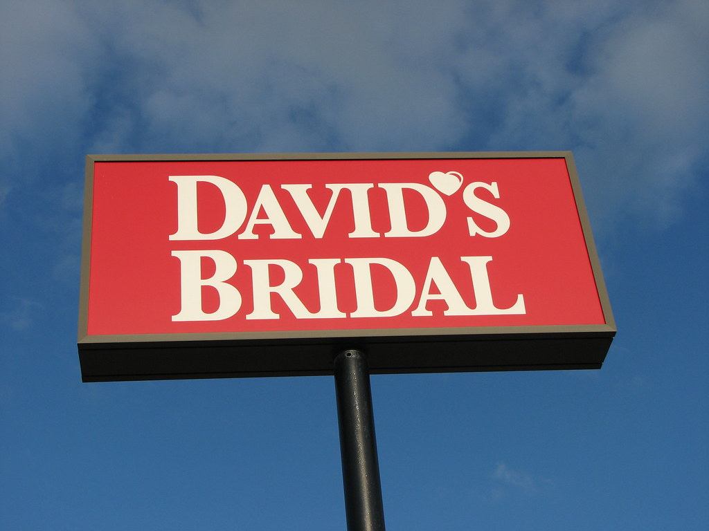 Portage Michigan David S Bridal Sign Darrell Harden