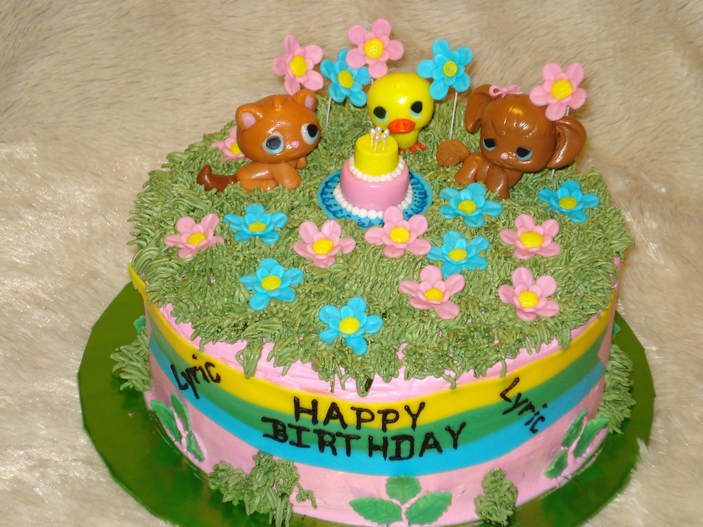 Incredible Littlest Pet Shop Birthday Cake Susanrcp Flickr Funny Birthday Cards Online Elaedamsfinfo