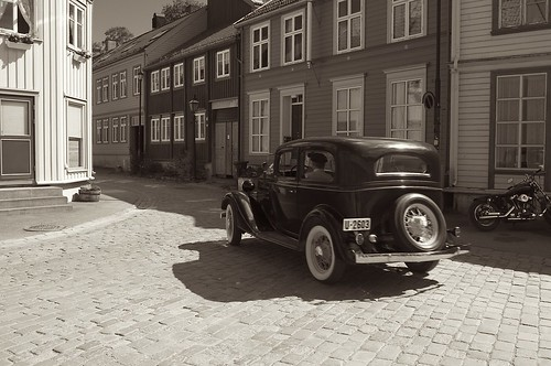 Veteran car at Bakklandet | by Morten Brekkevold