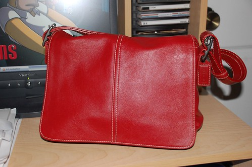 red Coach purse | by Julep67
