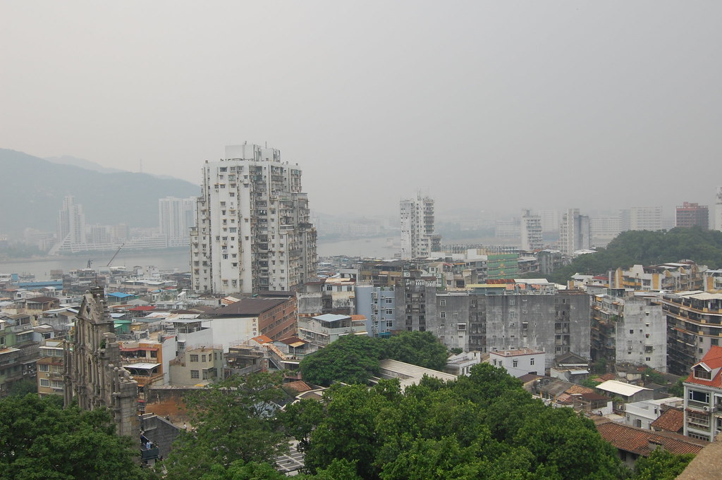 View of Macau From Monte Fort