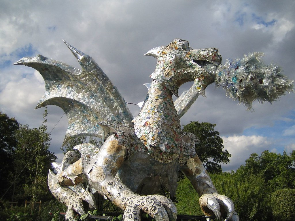 Recycled Dragon