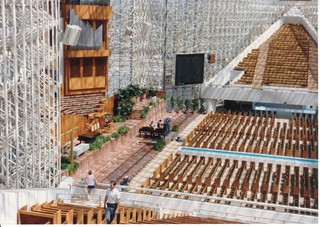 interior view of the Crystal Cathedral in Garden Grove, Ca. | by Bruce Tuten