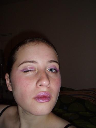 disco makeup | by emilyvalenza