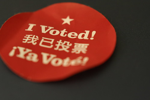 Hey! I voted! | by Brian W. Tobin