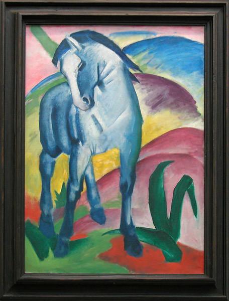 Cheval bleu de F. Marc