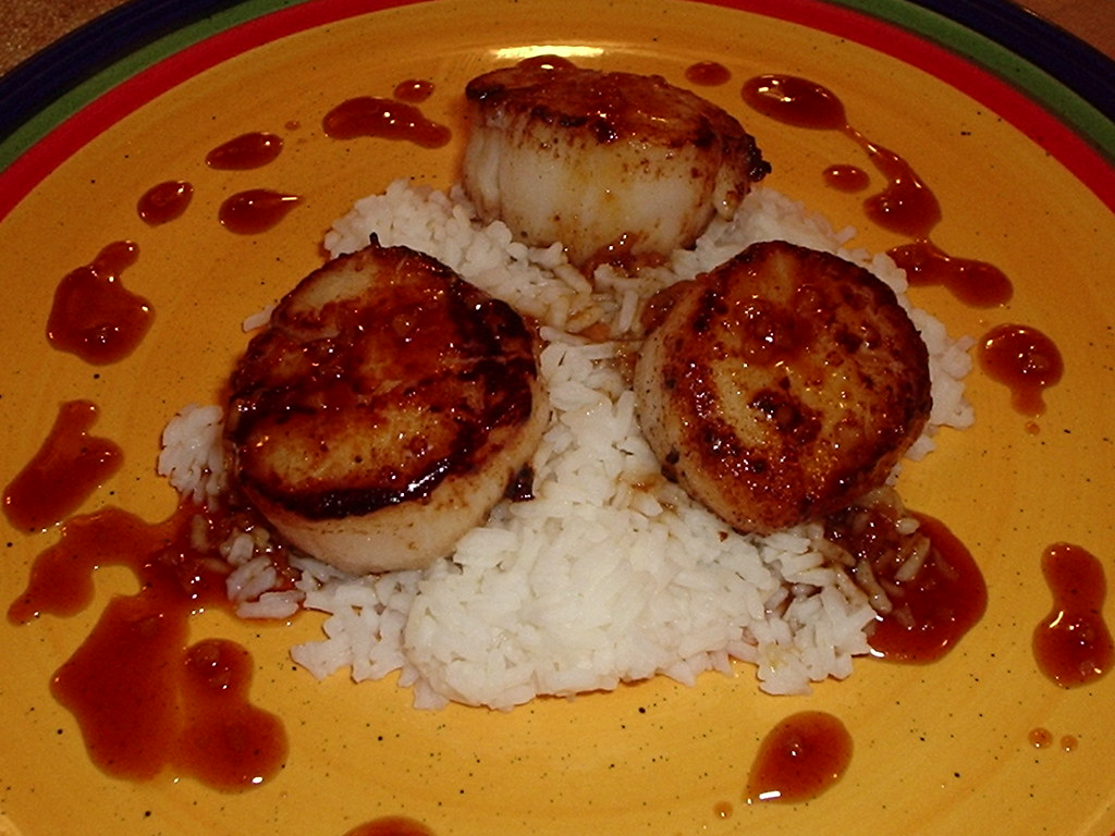 Seared Scallops with Ginger-Lime Sauce | llcskitchen.blogspo ...