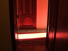 hotel hallway light
