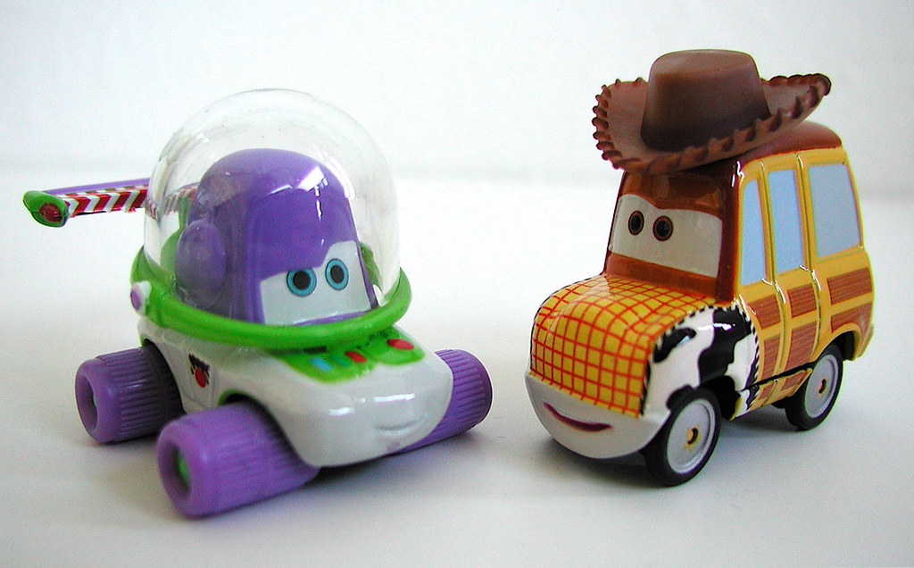 Mattel Supercharged Cars Toys Movie Moments Woody B Flickr