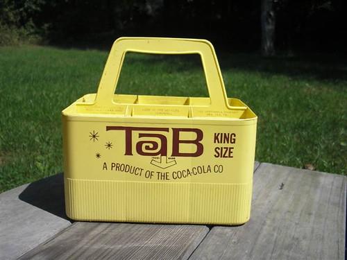 Vintage holder for 16oz bottles of TaB   by ILoveTaB