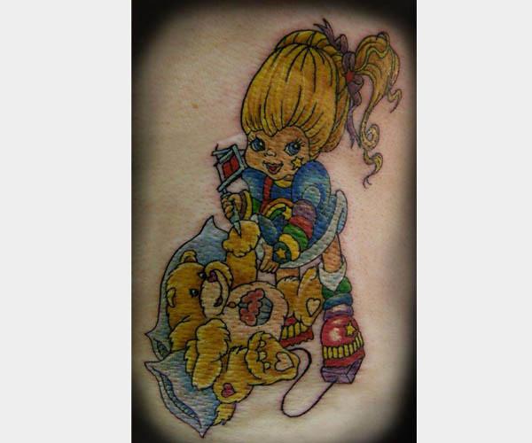 Rainbow Bright Carebear Tattoo Lolly514 Flickr