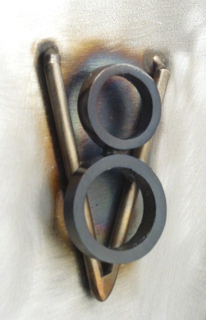 Hot Rod Metal Sculpture Www Browndogwelding Com Brown Dog Flickr