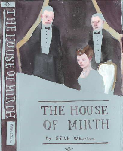 "Jennie Ottinger ""The House of Mirth  (book cover)"""