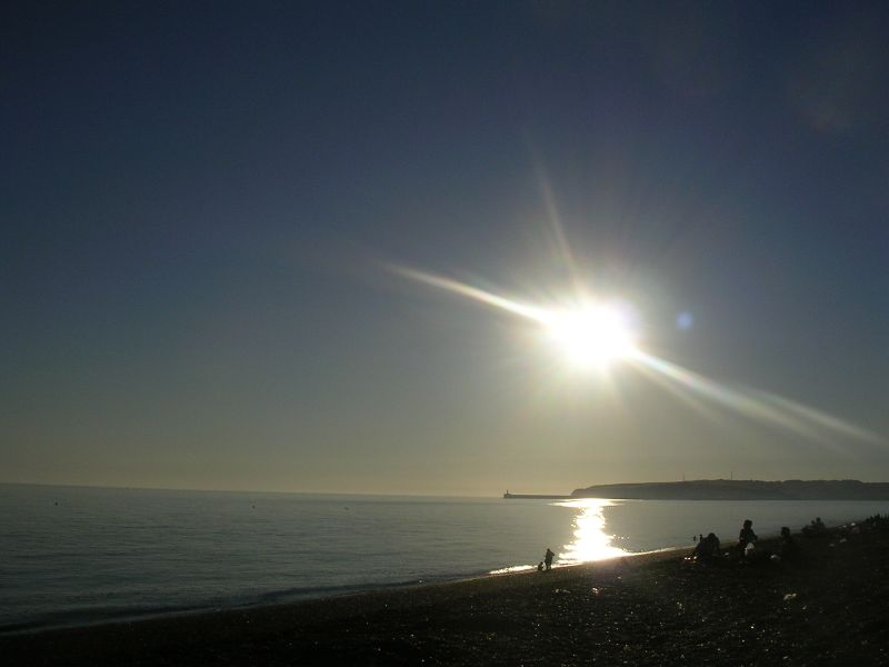 Sun over Newhaven