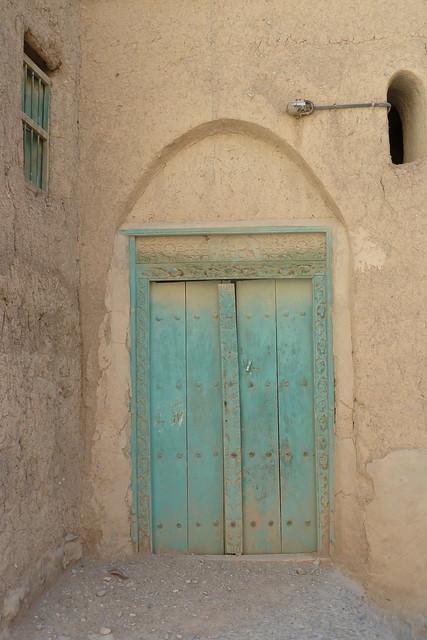 I love old wooden doors!
