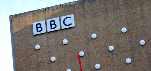 The BBC - sign on Television Centre | by James Cridland