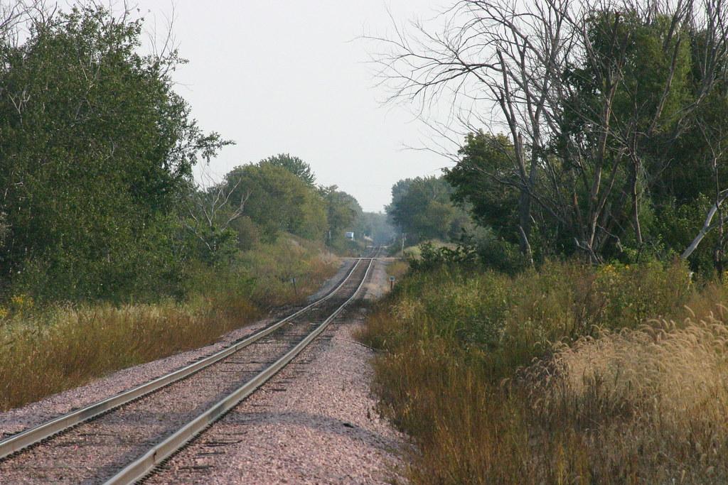 The CN line south of Alburnett