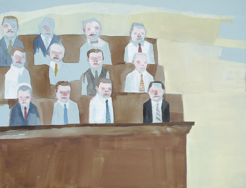 "Jennie Ottinger ""Jury (Scene from To Kill a Mockingbird)"""