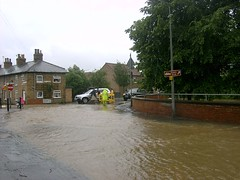 Pocklington in flood | by James Laing