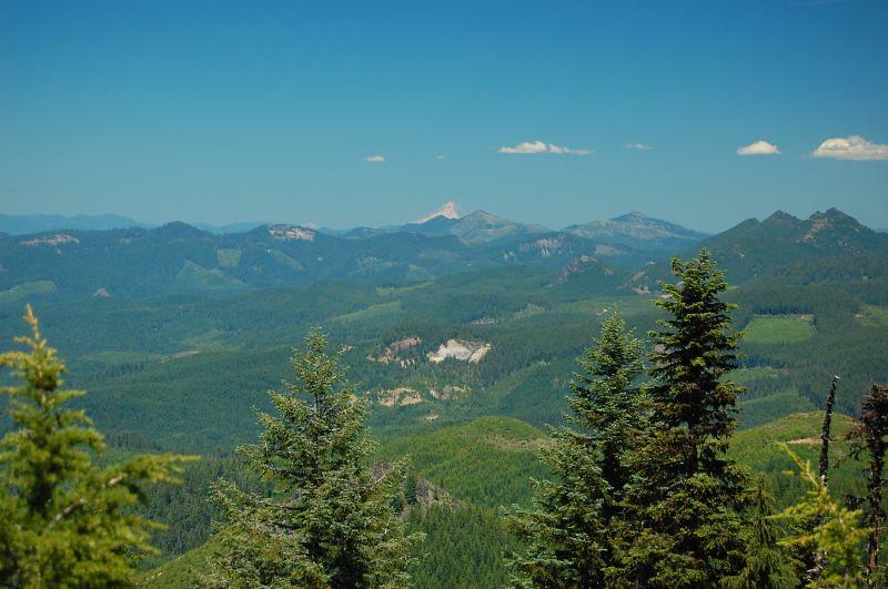 Distant Mt. Hood
