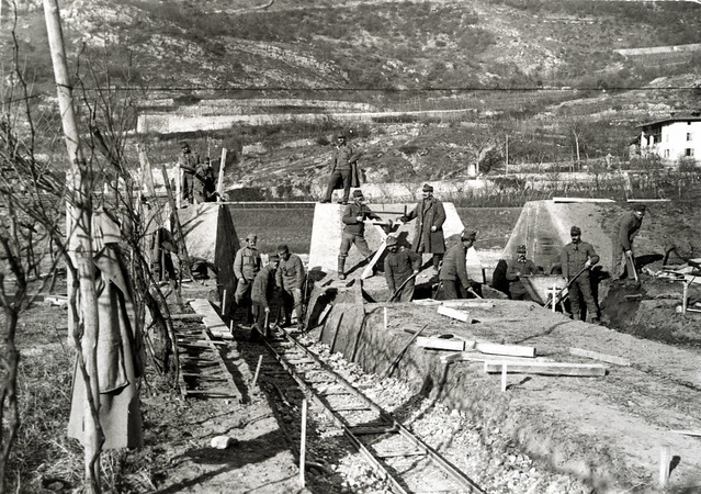 Calliano, inverno 1916