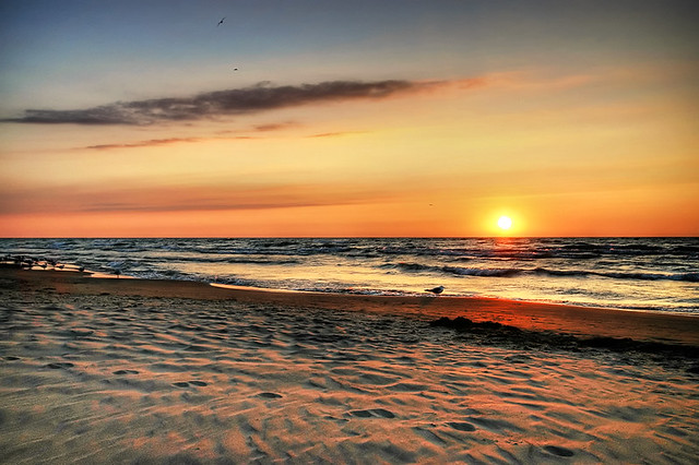 Lake Huron Sunset v2 HDR *