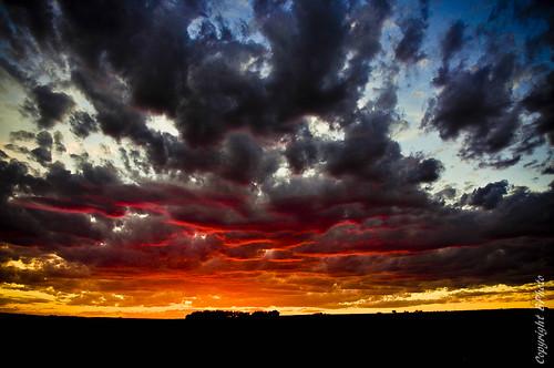 sunset clouds nikon wyoming d90