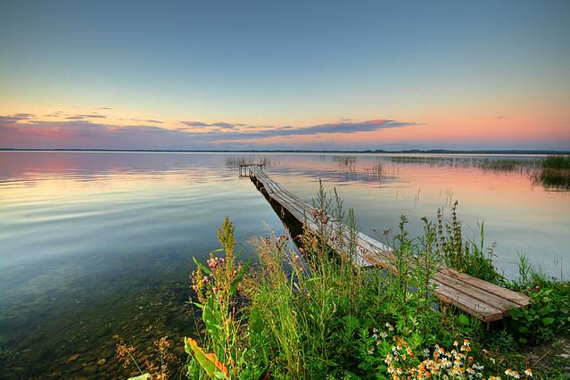 Raznas lake in Latvia (baltic states)