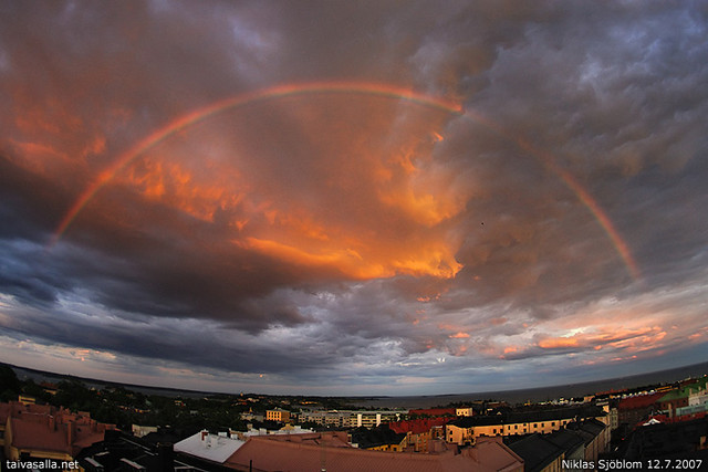 Rainbow over Helsinki