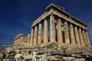 Parthenon in Athens | by thebaldwin