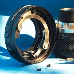 Converting an Auto-Aperture M42 Lens to Manual Aperture | by Arkku