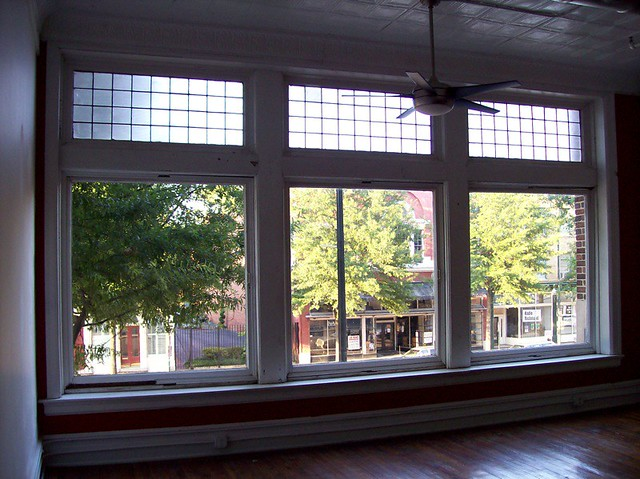 5 Foot By 5 Foot Windows These Look Out Over Broad St Th