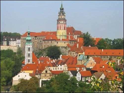Cesky Krumlov, Southern Bohemia, Czech republic