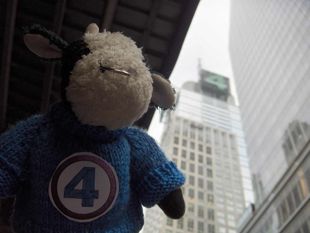 3bb22f9528 ... Visiting the fantastic Baxter Building   by Bully the Little Stuffed  Bull