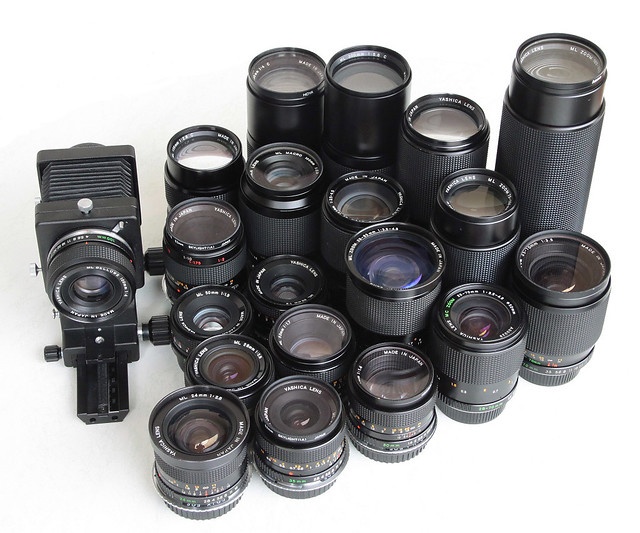 My Yashica ML lenses - the whole collection