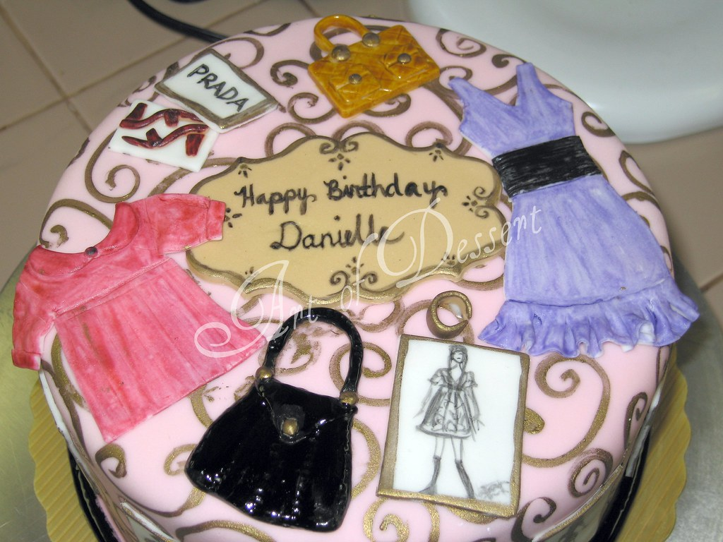 Danielles 9th Birthday Cake