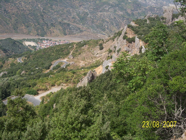 Strada per Monte Stella panorama
