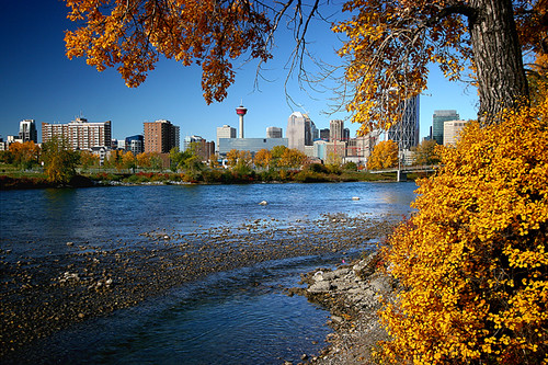 Calgary in Autumn | by hapulcu