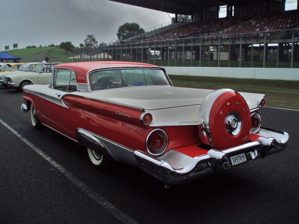 1959 Ford Fairlane 500 Galaxie Skyliner convertible   Flickr