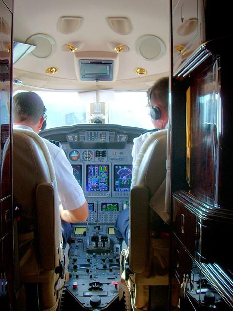 Citation X Cockpit Lots Of Glass In That Cockpit Richard