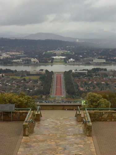 Canberra From Mount Ainslie | by Pat Scullion