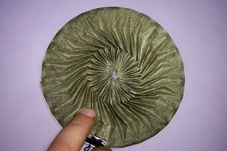 Green Running circle