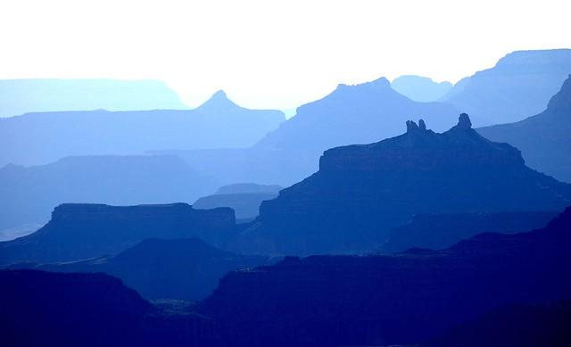 Grand Canyon haze