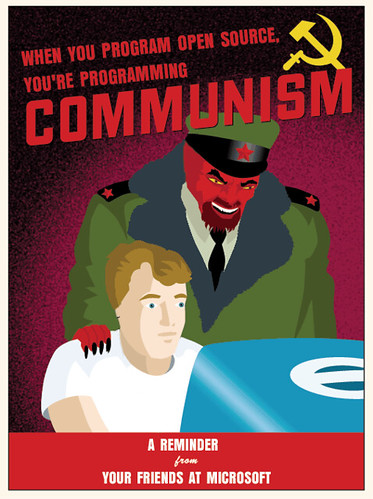 Open Source = Communism, From CreativeCommonsPhoto