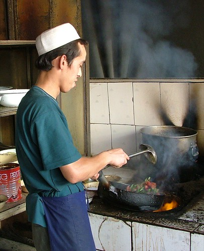 Xinjiang chef (1 of 3) | by Kate James
