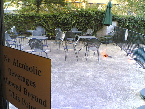 Circle Bistro Patio Now Closed | by Wayan Vota