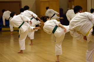 karate training | by Genista