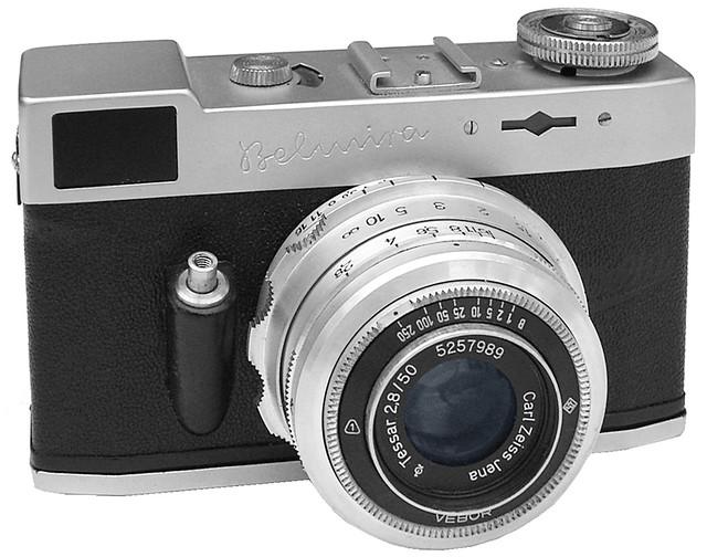 Welta Belmira Kleinbild Kamera Ab 1951 Gebaut Vom Veb Bel